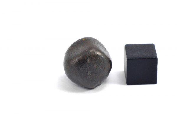 Iron meteorite 15.3 gram wide photography 09