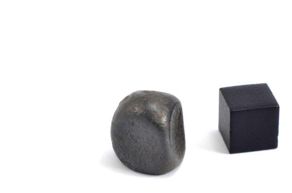 Iron meteorite 13.6 gram wide photography 13
