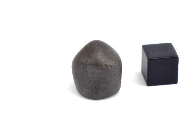 Iron meteorite 17.4 gram wide photography 09